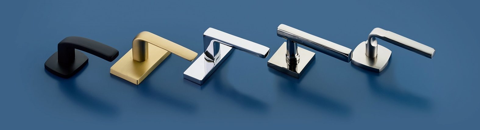 Handles, pulls, locks and latches for ADA doors